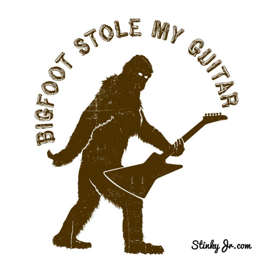 bigfoot stole my guitar